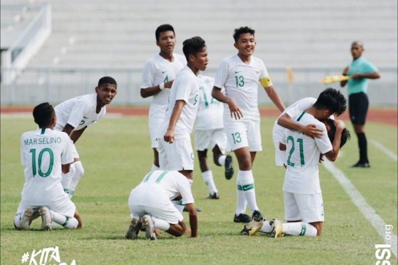 Tumbangkan Myanmar 5-0, ndonesia ke semifinal Piala AFF U-15