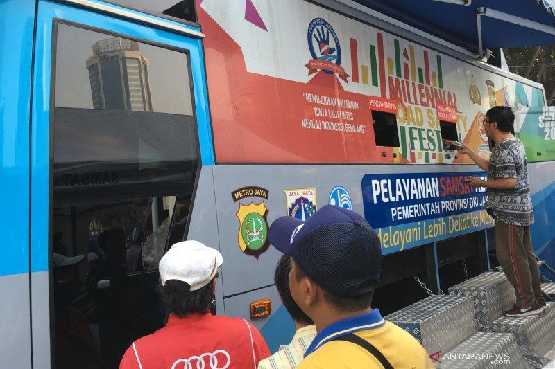 Layanan Samsat keliling di Jakarta Jumat ini ada di lima lokasi