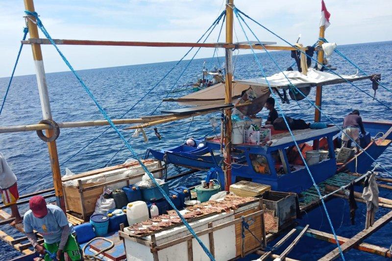 KKP tangkap enam kapal  ikan asing ilegal Vietnam dan Filipina