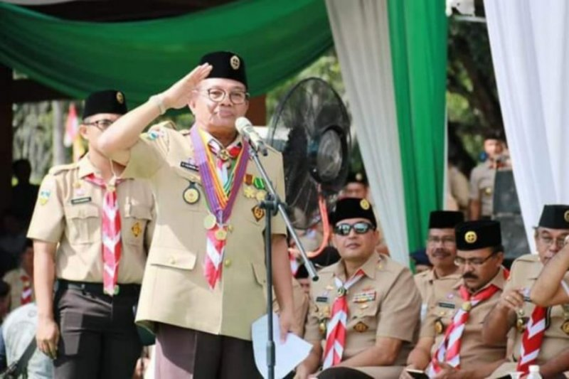 Gubernur Jambi diundang ke Jambore Pramuka dunia di AS
