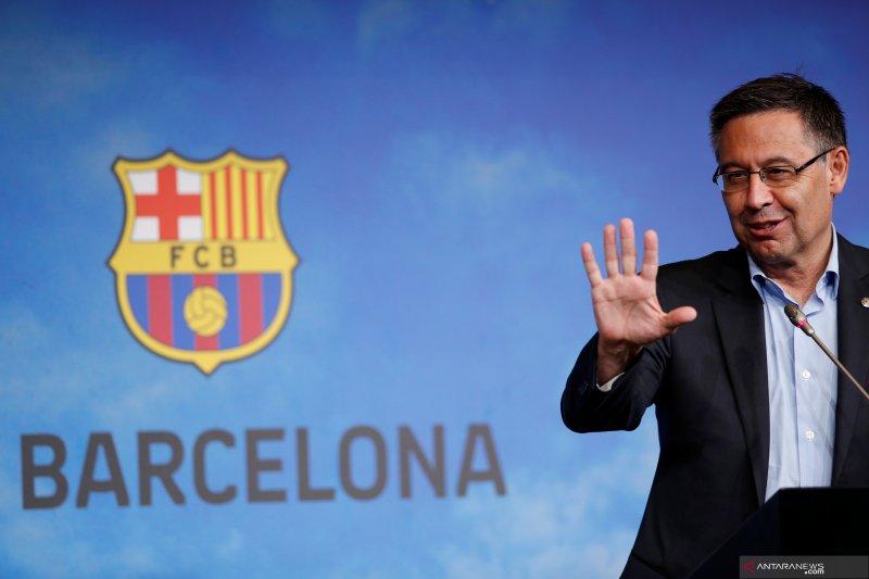 Presiden Barca mulai pikirkan masa depan pasca-Messi