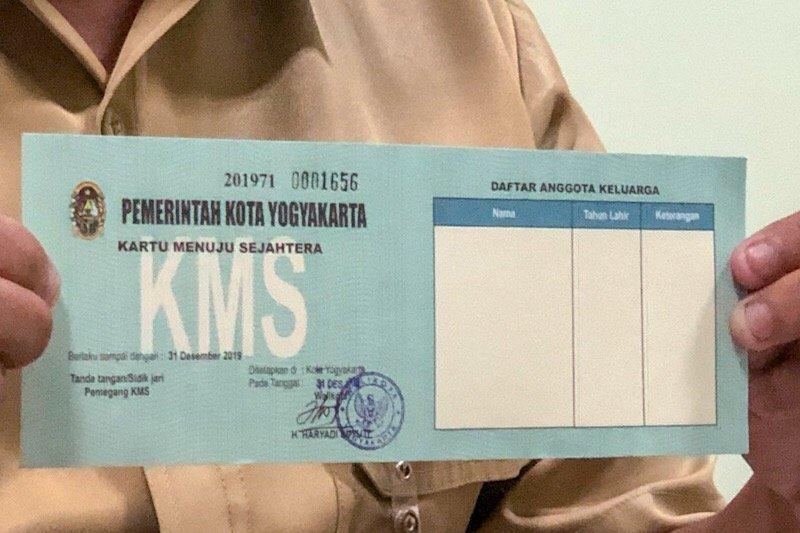 Dinas Sosial Kota Yogyakarta mengapresiasi warga kembalikan KMS