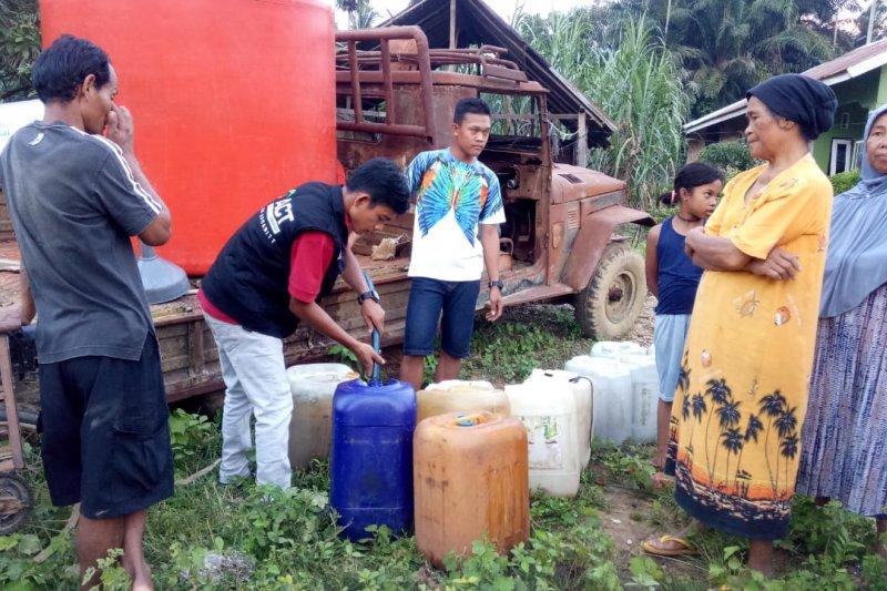 ACT salurkan 8.000 liter air bersih atasi kekeringan di Aceh Tamiang