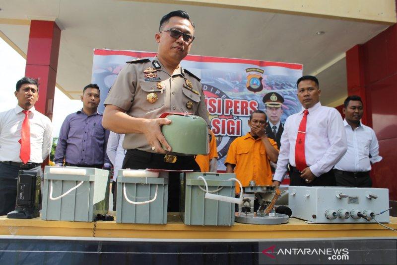 Pencuri alat pendeteksi gempa Palu ternyata masih  berstatus pelajar.