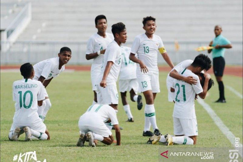 Indonesia berhasil lolos ke semifinal Piala AFF U-15