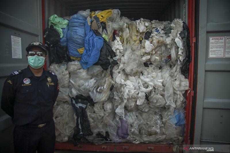 Re-Ekspor sampah plastik limbah B3