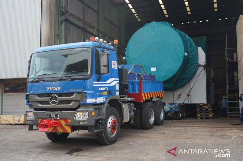 Barata ekspor komponen turbin ke Australia