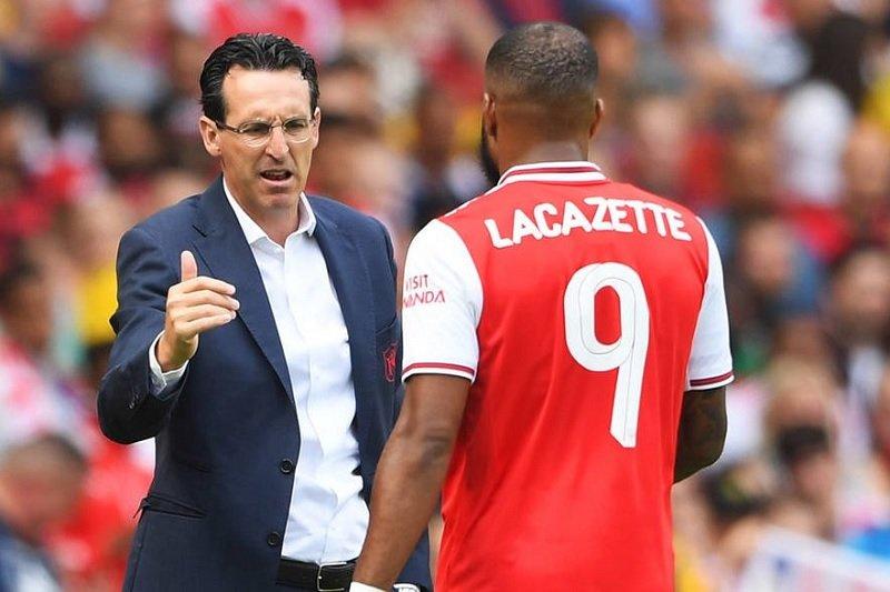 Lacazette cedera, mungkin akan pulih bela Arsenal dalam laga pembuka