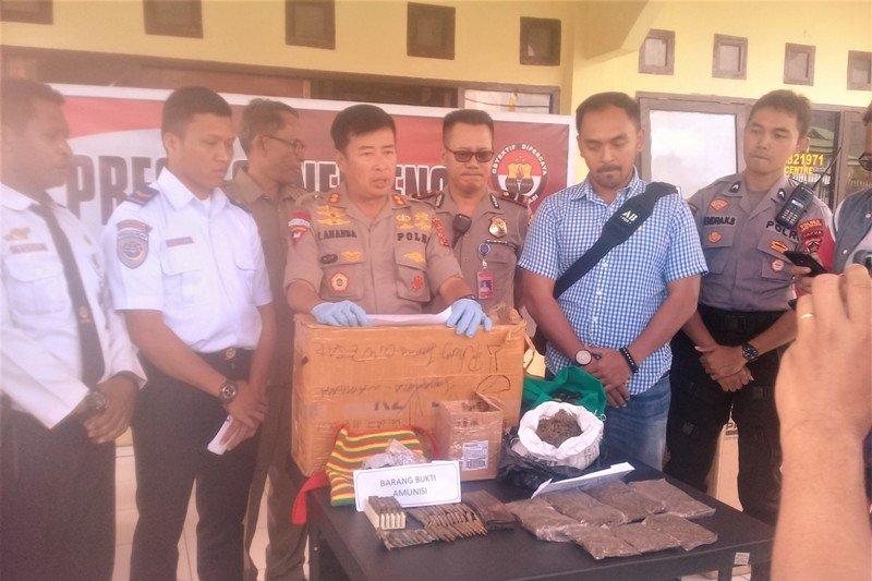 Polisi gagalkan penyeludupan 80 butir amunisi milik KKB di Kabupaten Nduga