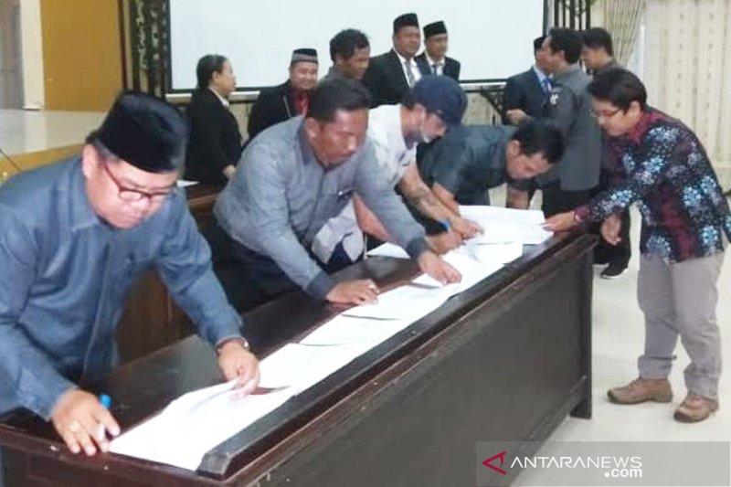 Calon anggota DPRD Pulpis terpilih