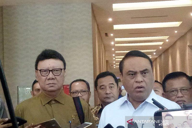 Mendagri bantah tuduhan politisasi perpanjangan izin ormas FPI