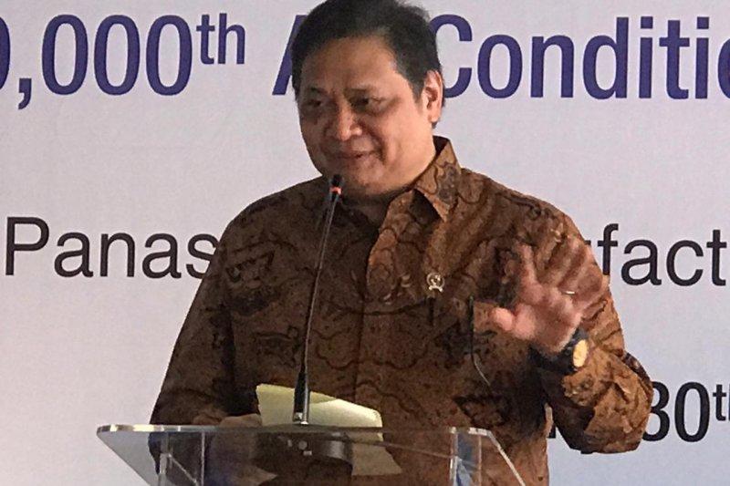 Airlangga Hartarto : Perang dagang dorong tren relokasi pabrik ke Indonesia