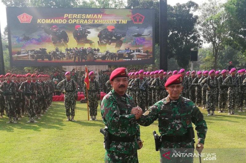 Brigjen Rochadi menjabat Komandan Koopsus TNI