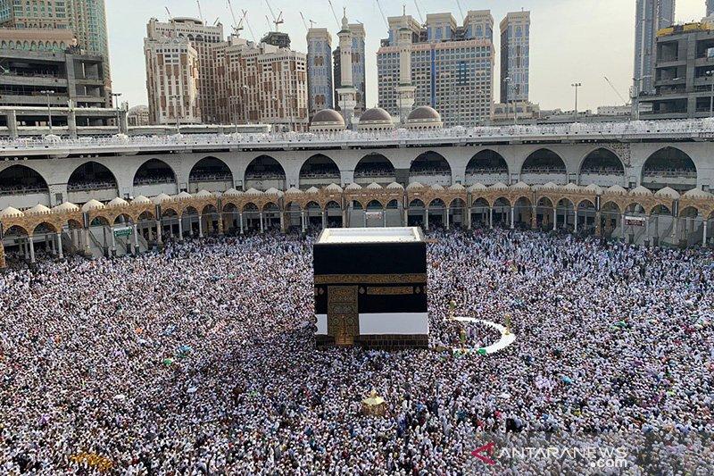 Masjidil Haram makin padat jelang puncak musim haji