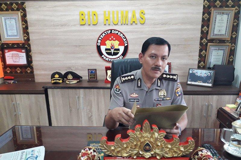 Polda Lampung tahan empat tersangka pelaku bentrok Mesuji