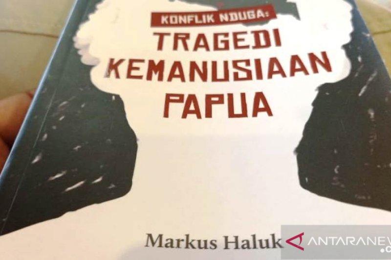 Markus Haluk luncurkan dan bedah buku 'Konflik Nduga'