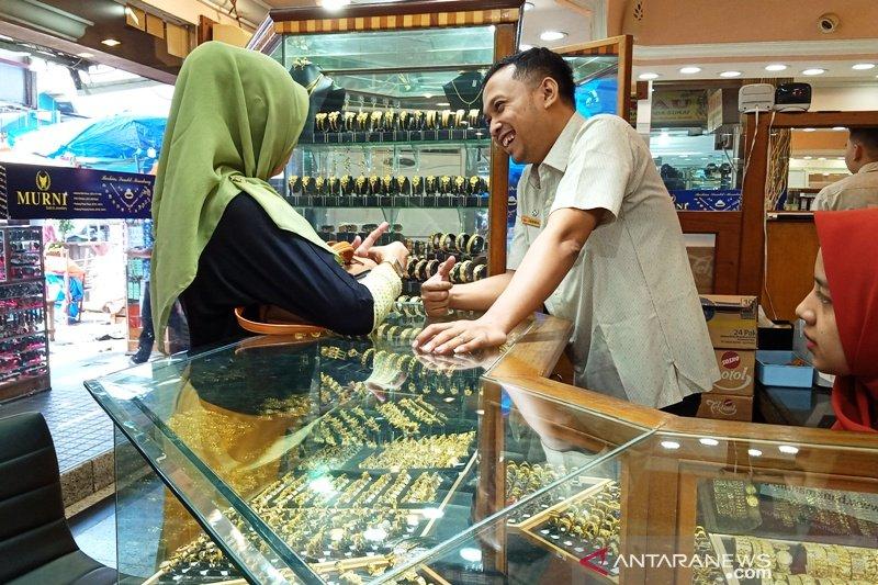 Ini harga perhiasan emas terbaru di Pasar Raya Padang
