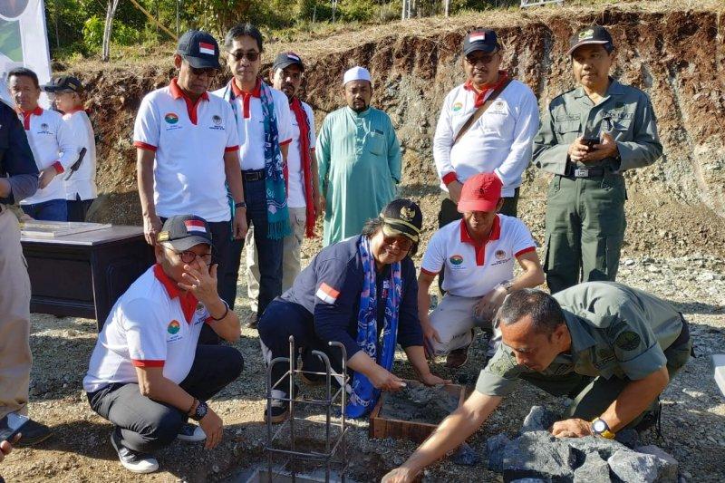 Peletakan batu pertama Plaza Jokowi di Tahura