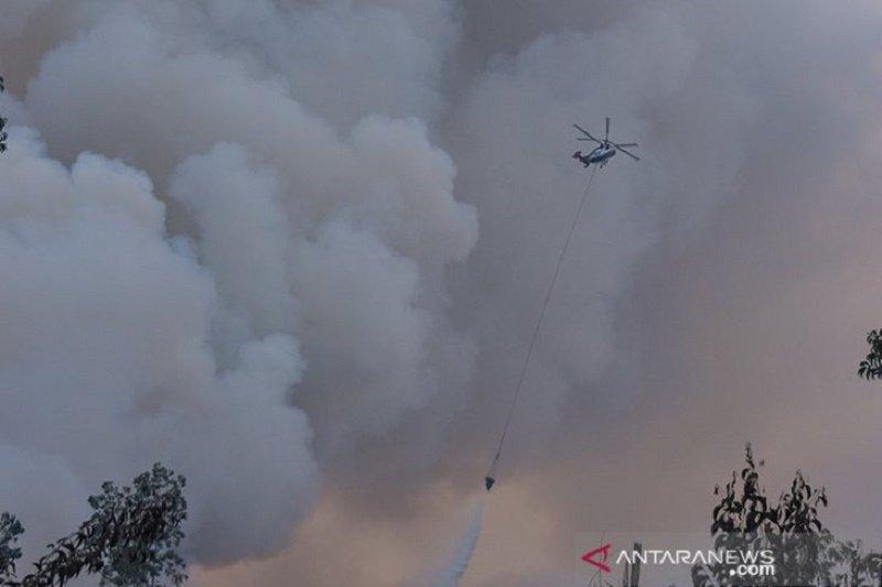 Satu helikopter BNPB bantu padamkan Karhutla di Bengkalis