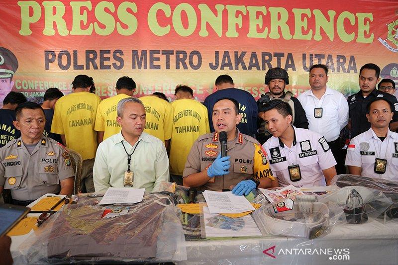 Polres Metro Jakarta Utara tangkap polisi gadungan pencuri motor