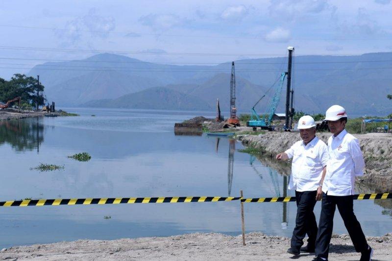 Komitmen Presiden Jokowi benahi Danau Toba jadi destinasi terintegrasi
