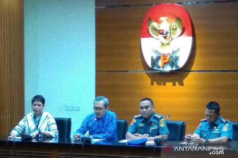 KPK tetapkan empat tersangka pada dugaan korupsi pengadaan di Bakamla