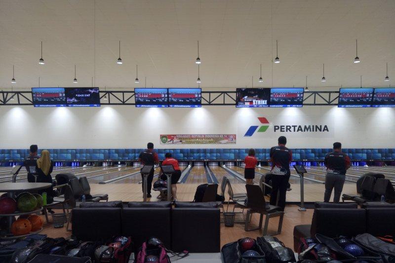 Beradaptasi dengan venue berstandar Internasional, Tim Boling Indonesia Pelatnas di Palembang