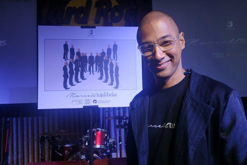 Jelang konser tunggal, Marcell Siahaan latihan tinju