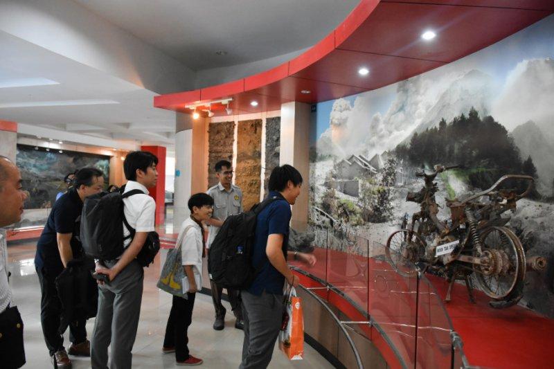 Delegasi Jepang belajar mitigasi bencana gunung api ke Sleman