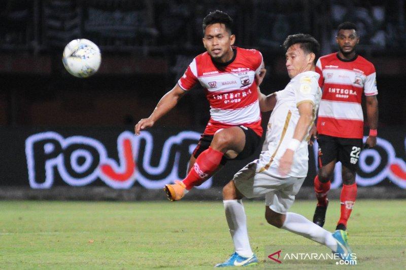 PSS Sleman berhasil kalahkan Madura United FC