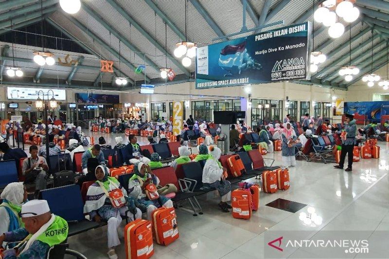 Jamaah haji dari Bandara Samrat Manado naik 22,91 persen