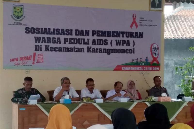 Warga Karangmoncol Purbalingga bentuk Forum Warga Peduli AIDS