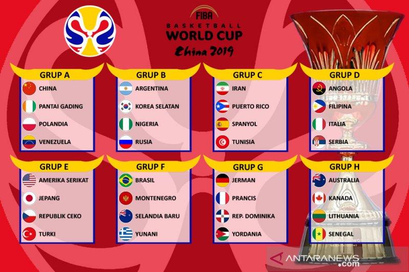 Jepang, Lithuania, Nigeria dan Venezuela umumkan roster akhir FIBA