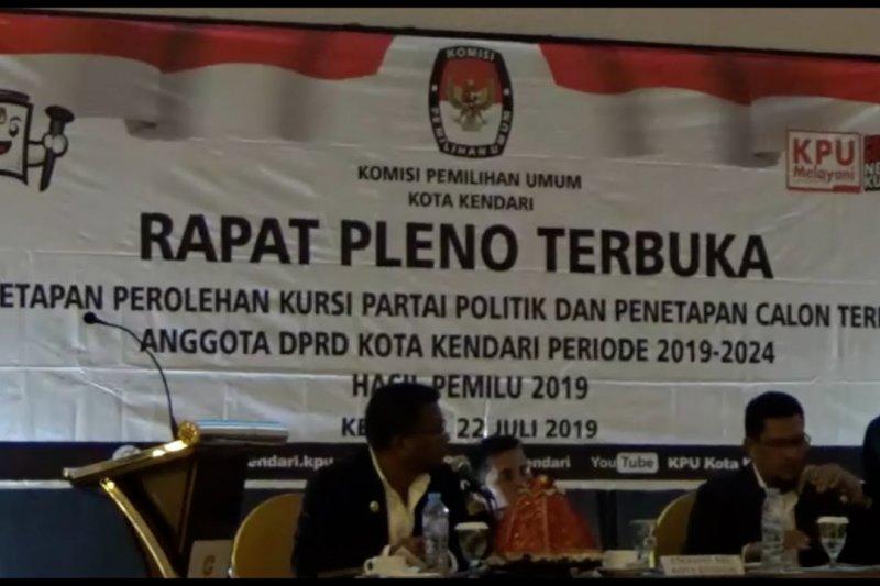 35 Anggota DPRD Kendari ditetapkan, PKS dominasi parlemen
