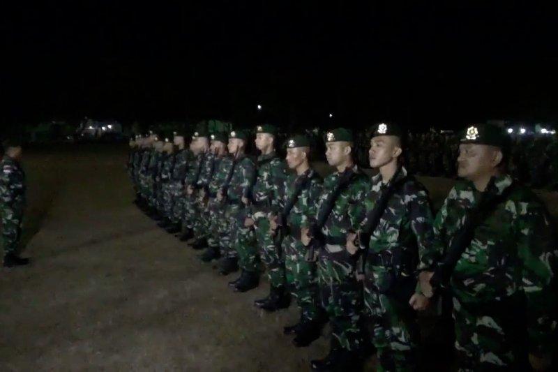 450 prajurit Raider berangkat jaga perbatasan RI – Papua Nugini