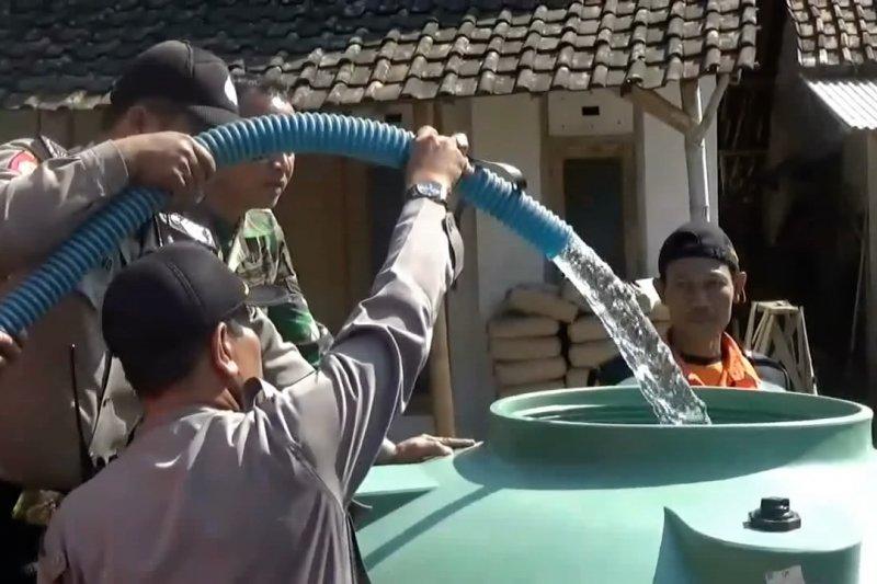 Lima desa di Magetan alami krisis air bersih