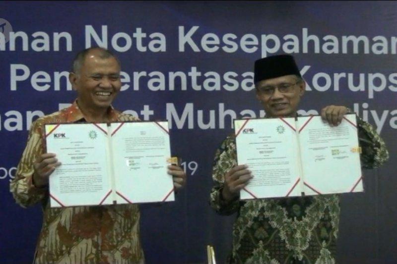 KPK sepakati pengajaran antikorupsi di Muhammadiyah