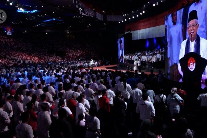 Ma'ruf Amin: Visi Indonesia untuk seluruh rakyat Indonesia