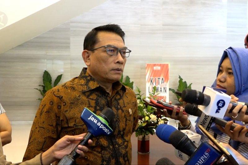 Moeldoko bantah KSP hanya berisikan relawan kampanye Jokowi