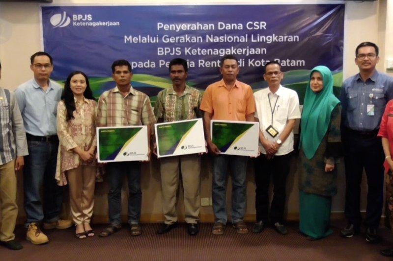 Ratusan pekerja rentan kini terdaftar peserta BPJS-TK