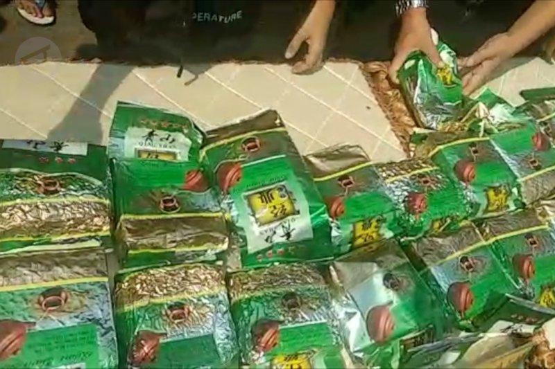 Polres Jakbar gagalkan penyelundupan sabu antarnegara