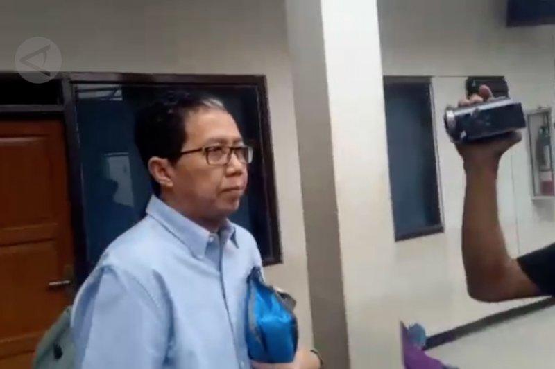 Tiba di PN Jaksel, Joko Driyono diam seribu bahasa