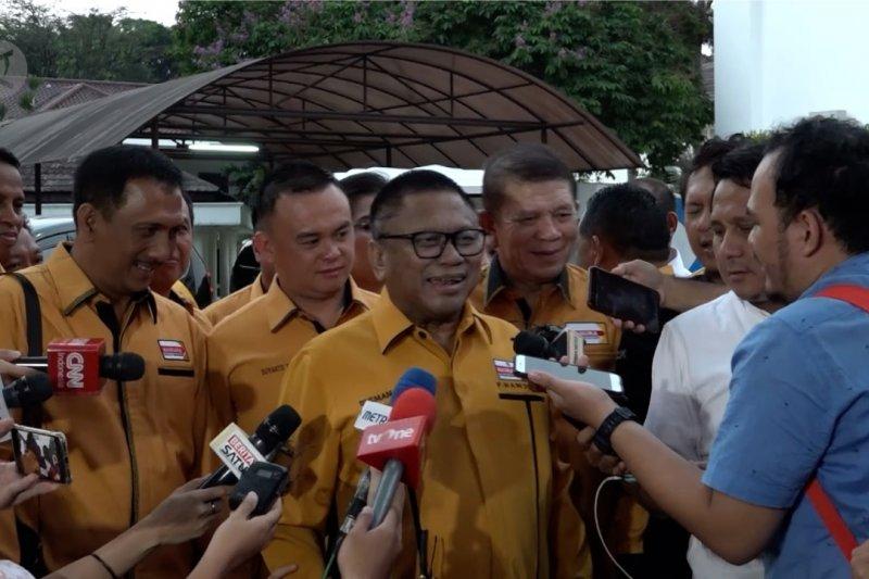 Partai Hanura bertemu Presiden Jokowi