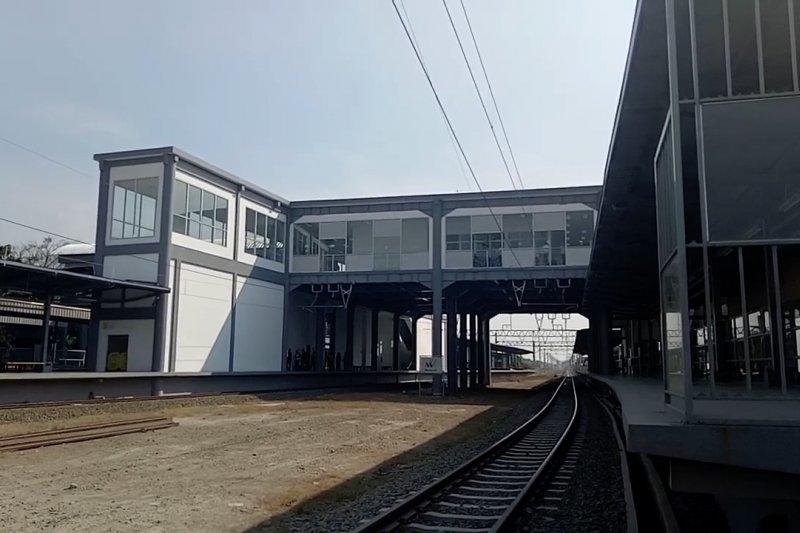 PT KAI resmikan jembatan penghubung Stasiun Batu Ceper