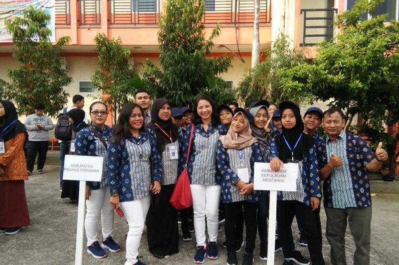 Sebanyak 14 siswa dari Mentawai ikuti FLS2N tingkat Sumbar