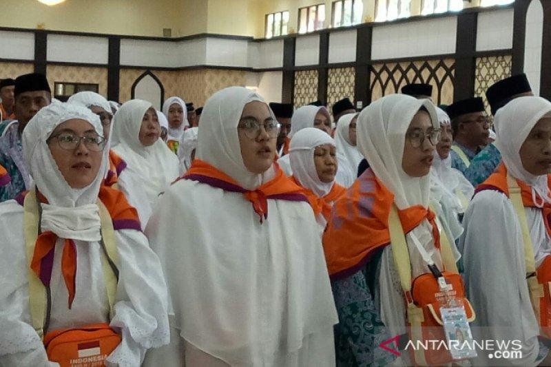 Gabungan JCH Sulsel-Gorontalo berangkat ke Tanah Suci Mekkah
