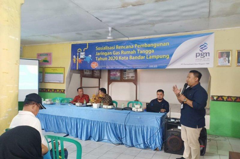 PGN sosialisasikan jargas rumah tangga di Kelurahan Sukarame