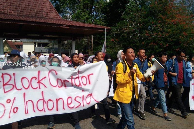 Gerakan Mahasiswa Peduli Blok Corridor tolak dikelola asing
