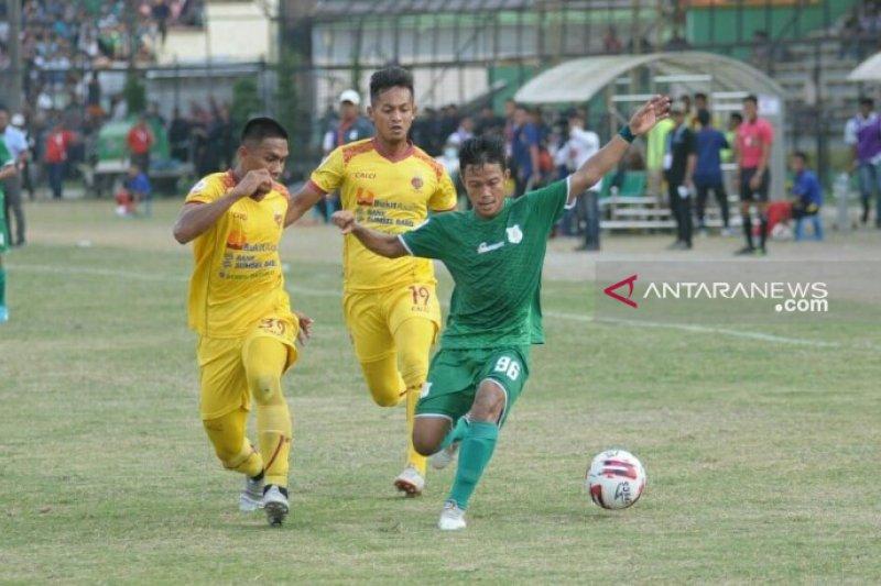 PSMS ditahan imbang tamunya Sriwijaya FC 1-1
