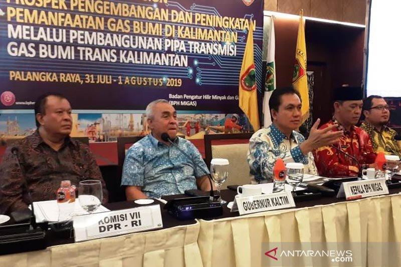 FGD peningkatan pemanfaat gas bumi di Kalimantan hasilkan lima poin